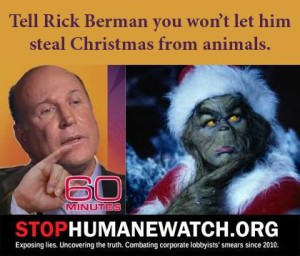 Share this graphic to let your friends know that HumaneWatch is nothing but a clumsy ploy by DC's best-known PR hit man on behalf of those who profit from abusing animals.