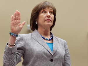 Internal Revenue Service Director of Exempt Organizations Lois Lerner is sworn in before testifying to the House Oversight and Government Reform Committee May 22, 2013 in Washington, DC.  (Photo by Chip Somodevilla/Getty Images)